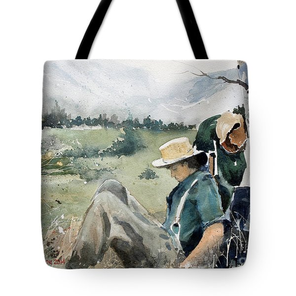 High Country Rest Stop Tote Bag
