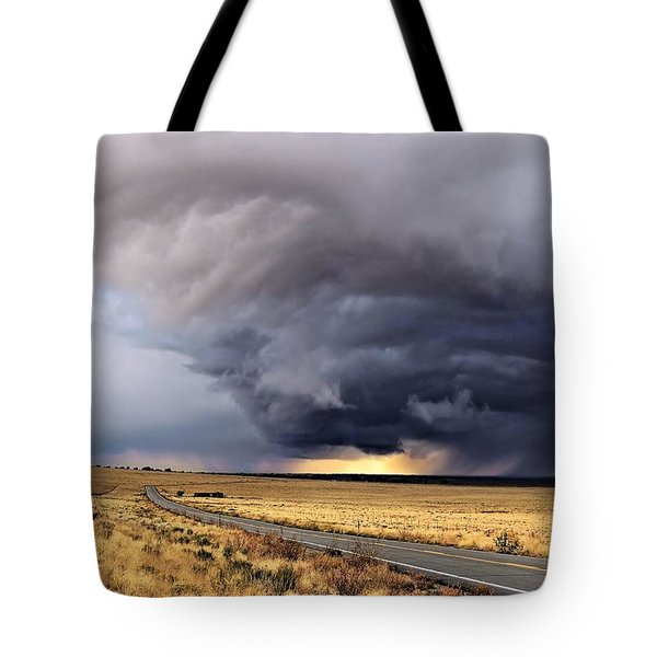 High Desert Drama Tote Bag