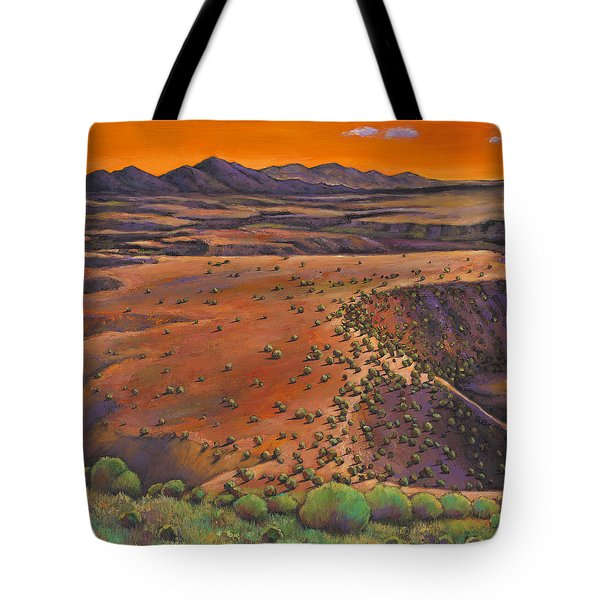 High Desert Evening Tote Bag