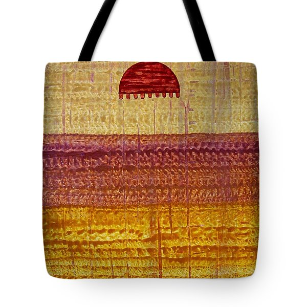 High Desert Horizon Original Painting Tote Bag