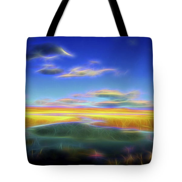 High Desert Lake Tote Bag