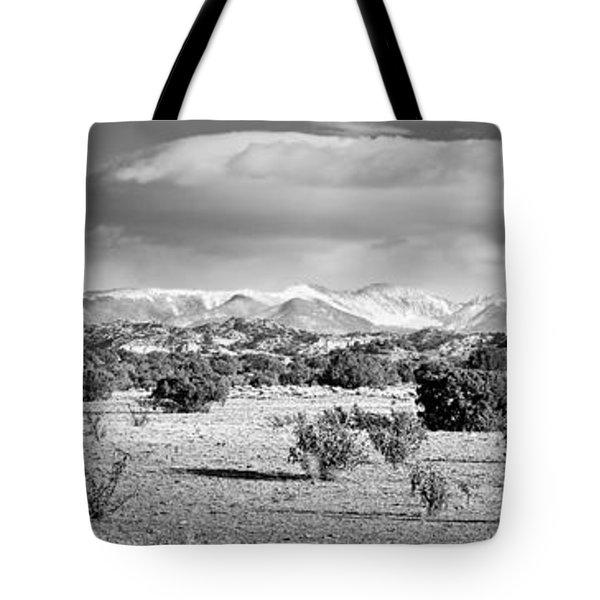 High Desert Plains Landscape Tote Bag