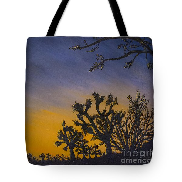 High Desert Twilight Tote Bag