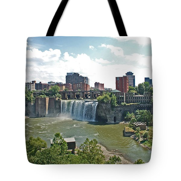 High Falls Tote Bag by Aimee L Maher Photography and Art Visit ALMGallerydotcom