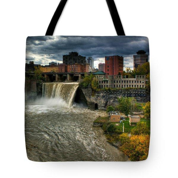 High Falls Tote Bag by Tim Buisman