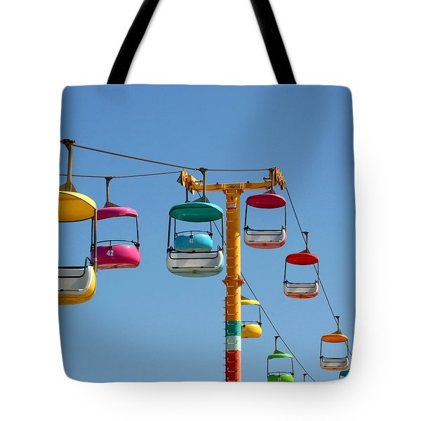 Tote Bag featuring the photograph High Flying by Art Block Collections