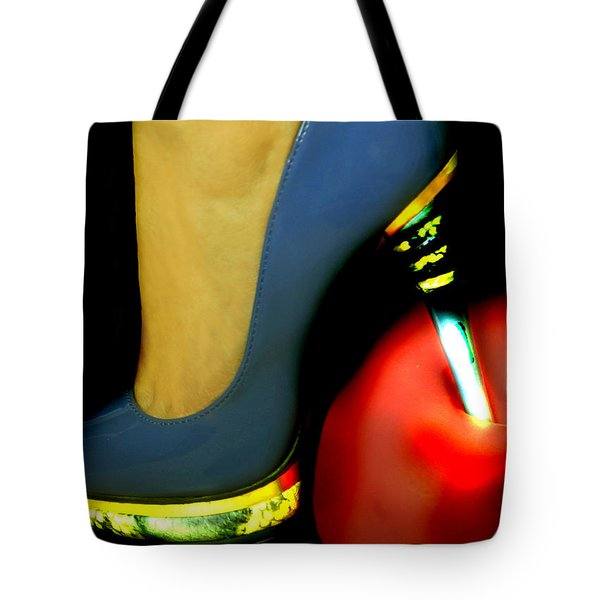 High Heel Tote Bag by Christine Sponchia