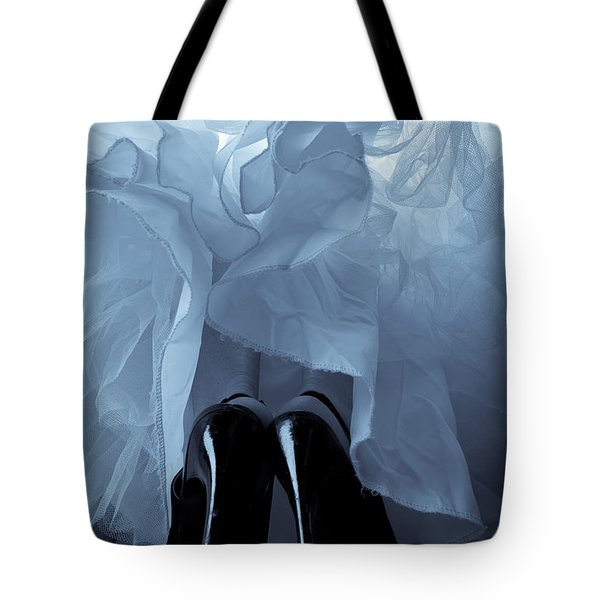 High Heels And Petticoats Tote Bag by Scott Sawyer