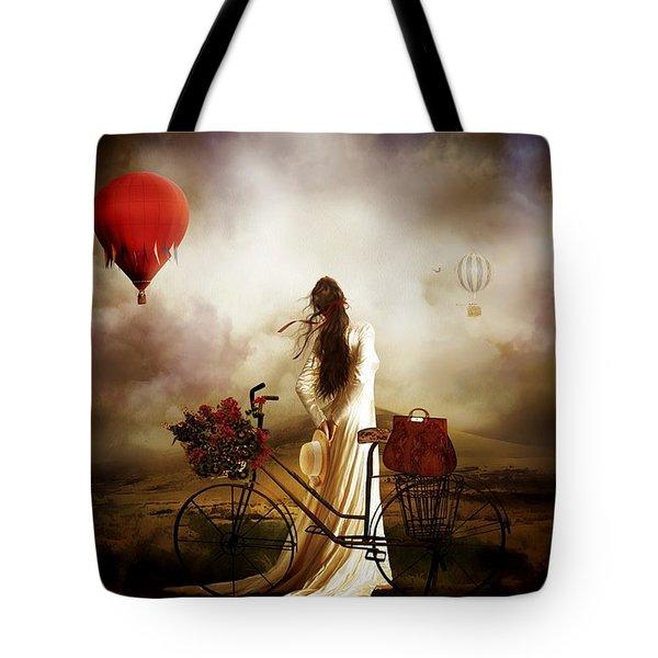High Hopes Tote Bag by Shanina Conway