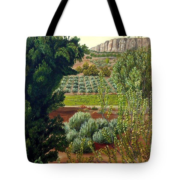 High Mountain Olive Trees  Tote Bag