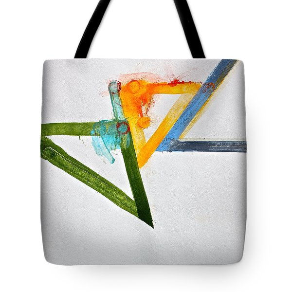Tote Bag featuring the painting High Noon by Cliff Spohn
