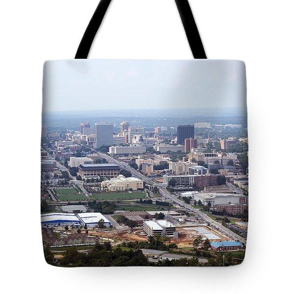 High On Columbia Tote Bag