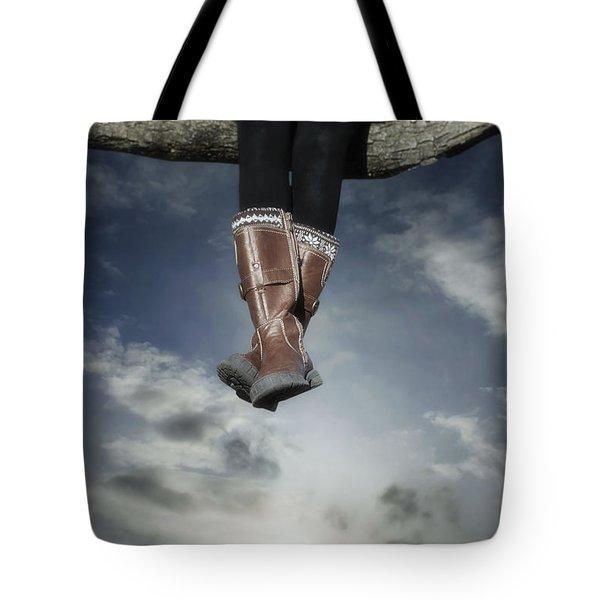 High Over The World Tote Bag by Joana Kruse