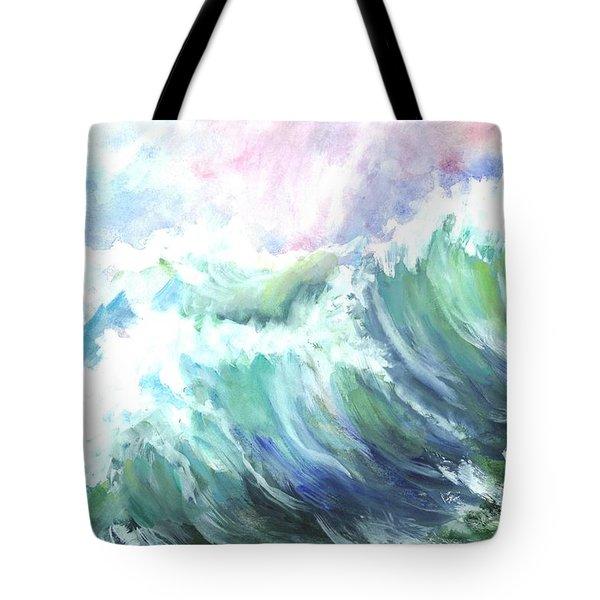 High Seas Tote Bag by Carol Wisniewski