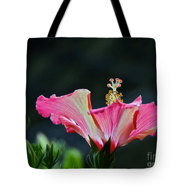 High Speed Hibiscus Flower Tote Bag