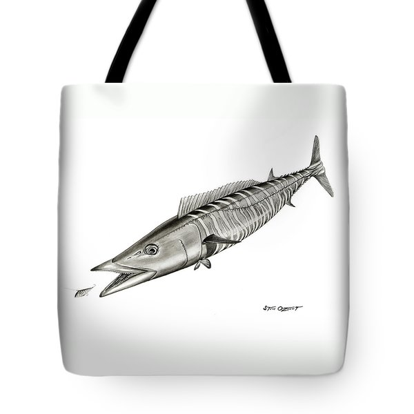 High Speed Wahoo Tote Bag