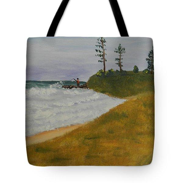 High Tide  Tote Bag by Pamela  Meredith