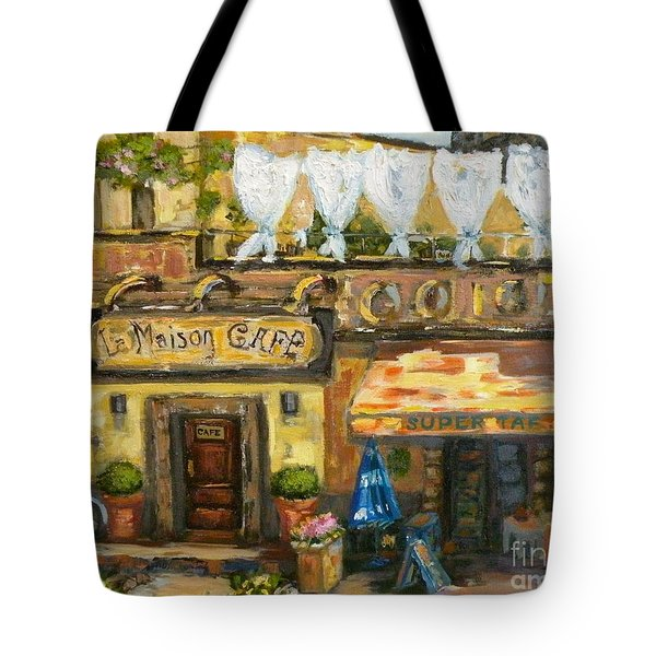 High Time In Lourmarin Tote Bag