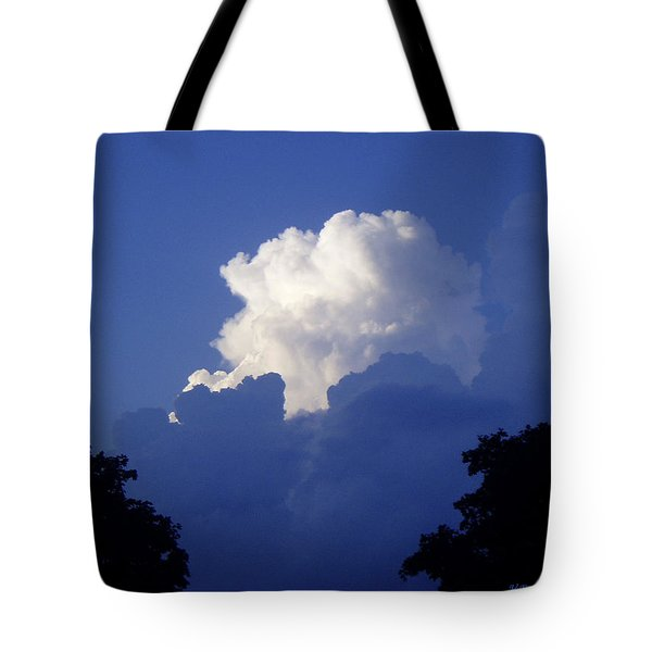 High Towering Clouds Tote Bag by Verana Stark