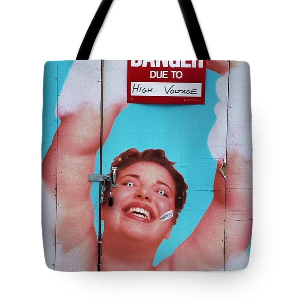 High Voltage Tote Bag by Allen Beatty