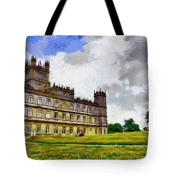 Highclere Castle Tote Bag by Georgi Dimitrov