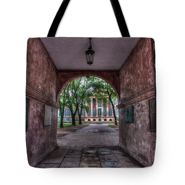 Higher Education Tunnel Tote Bag