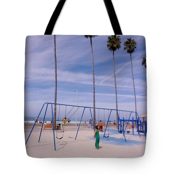 Tote Bag featuring the photograph Higher  by Susan Garren