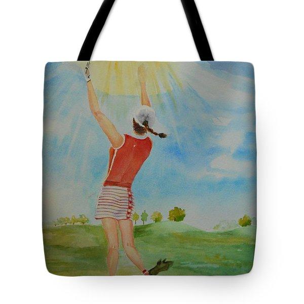 Highest Calling Is God Next Golf Tote Bag
