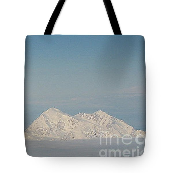 Blanket Of Denali Tote Bag by Heather  Hiland
