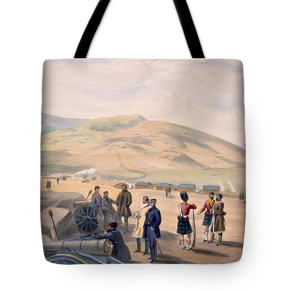 Highland Brigade Camp, Plate From The Tote Bag