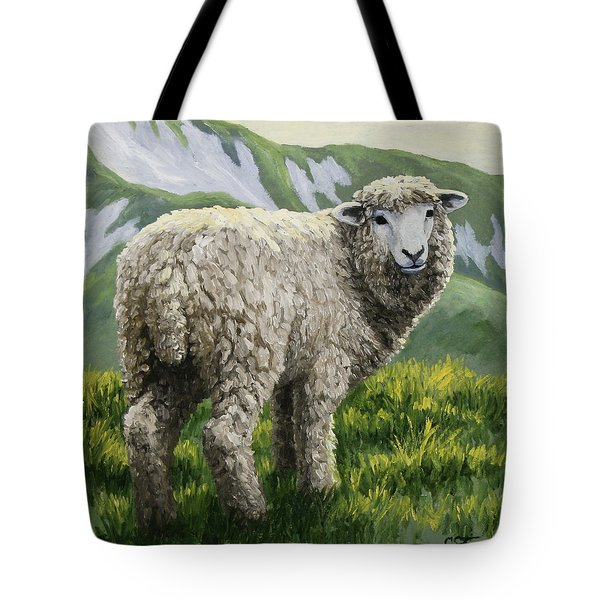 Highland Ewe Tote Bag