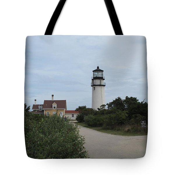 Highland Light Aka Cape Cod Light Tote Bag