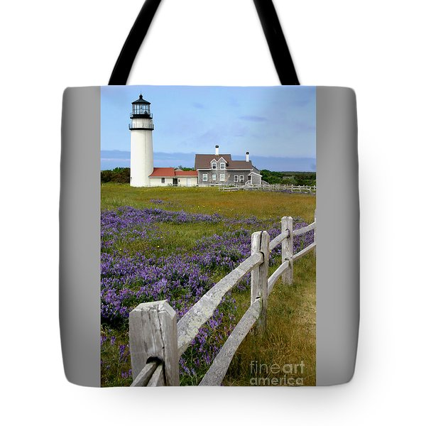 Highland Lighthouse Tote Bag by Paula Guttilla
