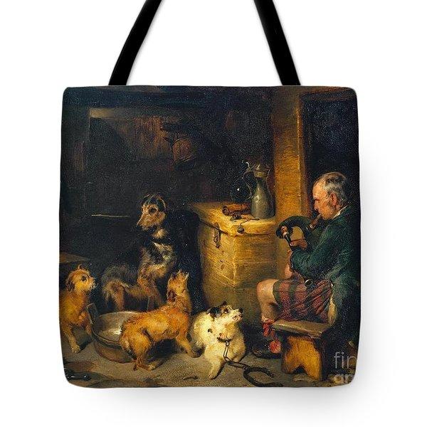 Highland Music Tote Bag