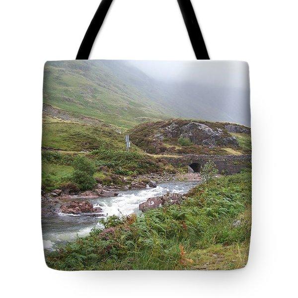 Highland Stream Tote Bag