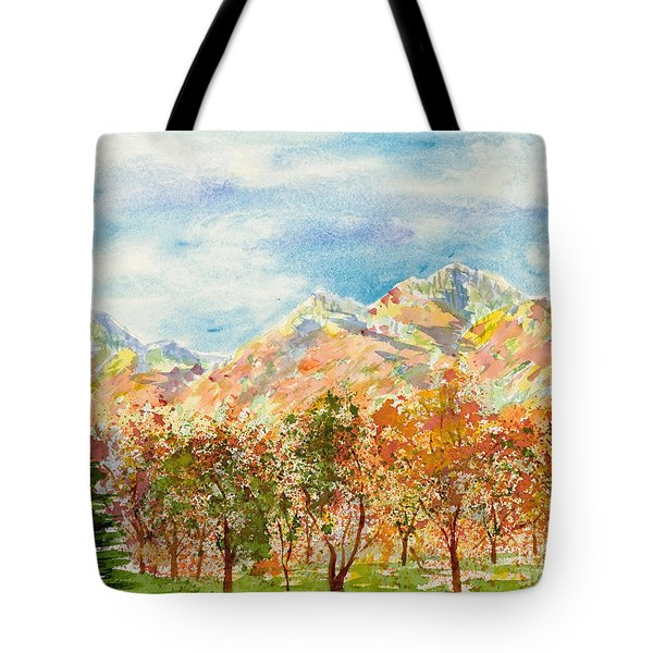 Highlands Autumn Tote Bag