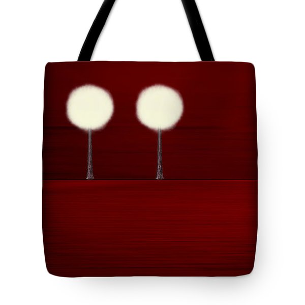 Highlighted Trees 02 Tote Bag by Aimelle