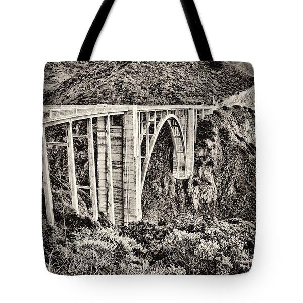 Highway 1 Tote Bag by Heather Applegate
