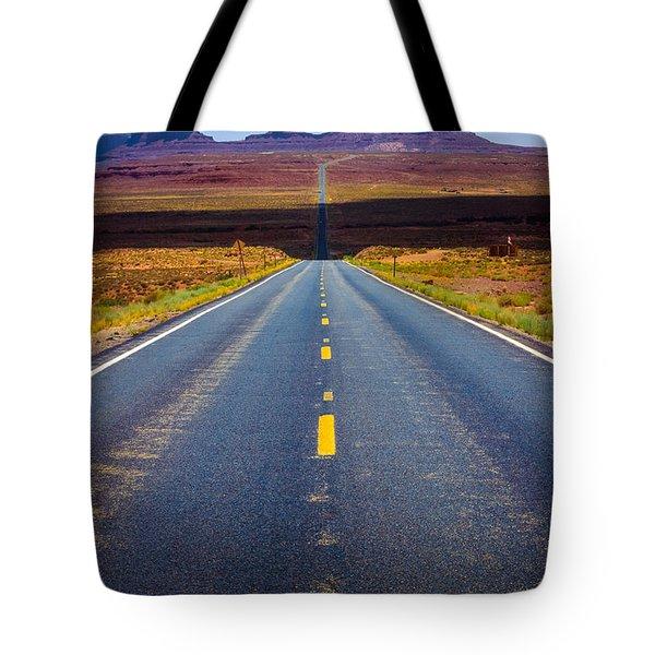 Highway 163 Tote Bag