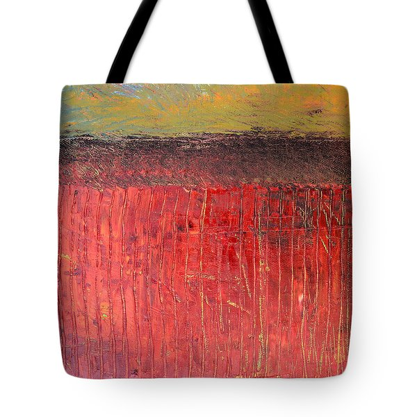Highway Series - Cranberry Bog Tote Bag