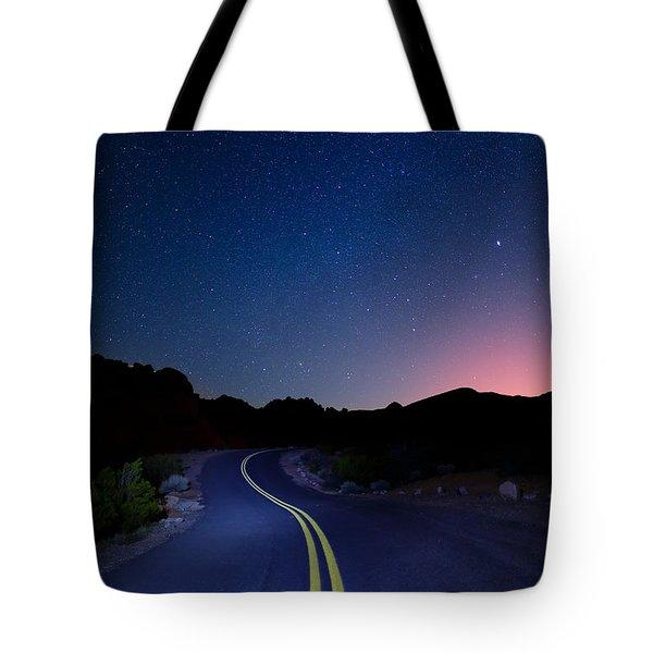 Highway Stars Tote Bag