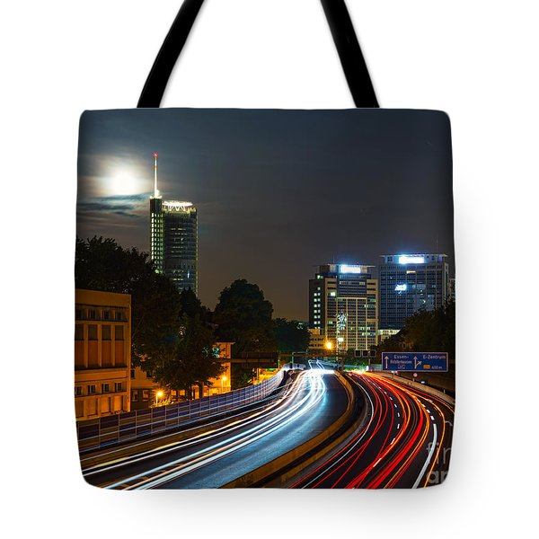 Highway To Essen Tote Bag
