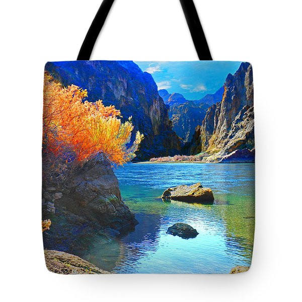 Hikers Haven Two Tote Bag by Alan Socolik