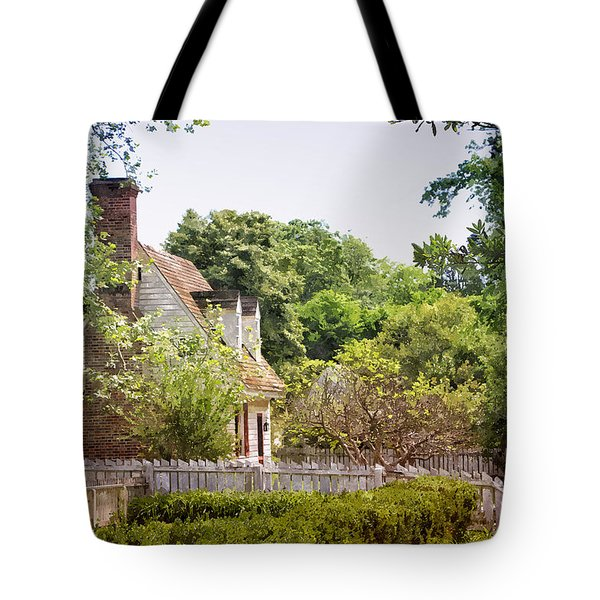 Hill Cottage Tote Bag