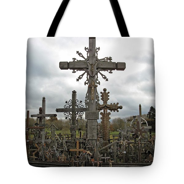Hill Of Crosses 06. Lithuania.  Tote Bag