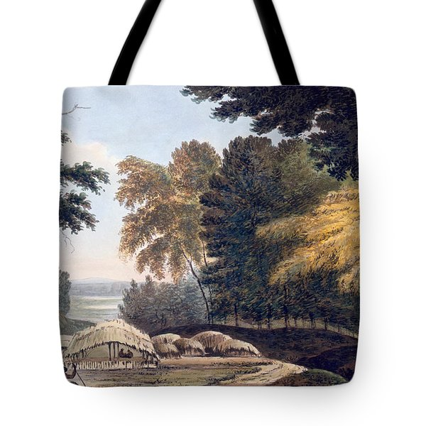 Hill Village In The District Of Bauhelepoor Tote Bag by William Hodges