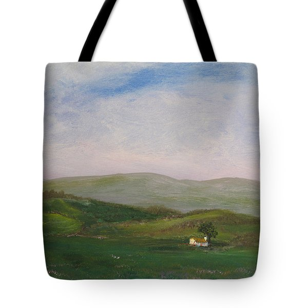 Hills Of Ireland Tote Bag