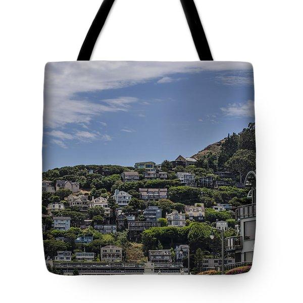 Hills Of Salsalito Tote Bag