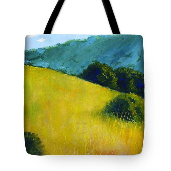 Hillside Prairie Tote Bag by Nancy Merkle