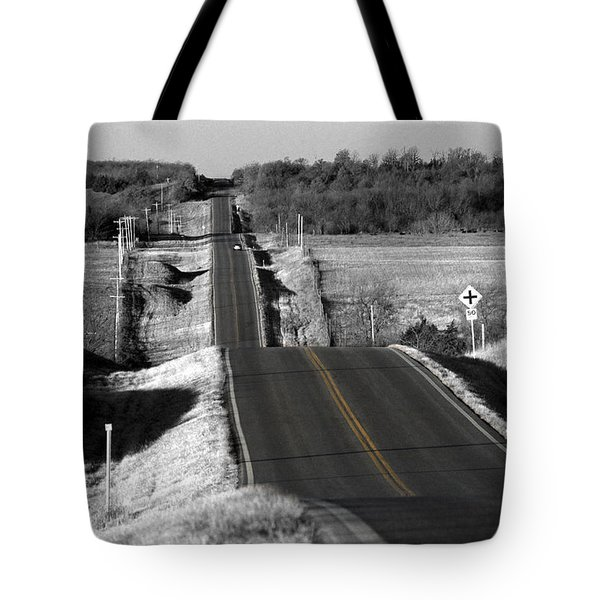 Hilly Ride Tote Bag